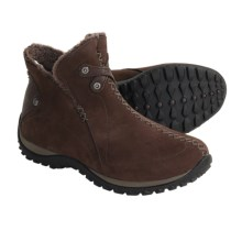 Sorel Nicolet Nubuck Shoes - Waterproof, Insulated (For Women) in Hawk - Closeouts