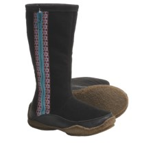 Sorel Norquay Boots - Faux-Fur Lining (For Women) in Black/Green Blue Slate - Closeouts