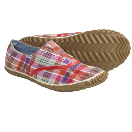 Sorel Picnic Plimsole Plaid Shoes - Canvas (For Women) in Mirage