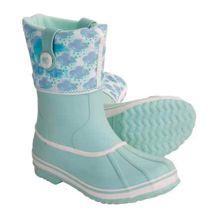 Sorel Rainbou Pac Boots - Waterproof, Insulated (For Kids and Youth) in Heavenly Blue - Closeouts