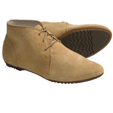 Sorel Richelieu Shoes - Suede (For Women) in Taffy