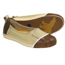 Sorel Sentry Canvas Slip-On Shoes (For Women) in Pale Khaki - Closeouts