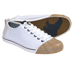 Sorel Sentry Canvas Sneakers (For Women) in White