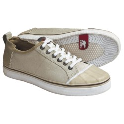 Sorel Sentry Sneakers - Leather (For Men) in White Swan
