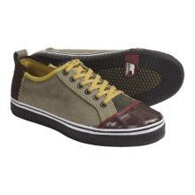 Sorel Sentry Sneakers - Leather-Suede (For Men) in Grape Leaf - Closeouts