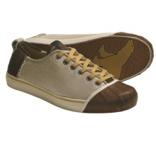Sorel Sentry Sneakers - Leather, Suede (For Women) in Dune - Closeouts