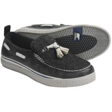 Sorel Sentry Tassel Shoes - Felt, Slip-Ons (For Men) in Black/Oyster Grey - Closeouts