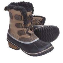 Sorel Slimpack Pac Boots - Waterproof, Insulated (For Women) in Fossil - Closeouts