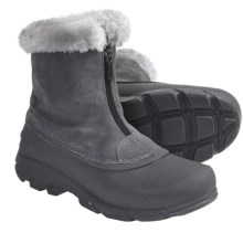 Sorel Snow Angel Pac Boots - Front Zip (For Women) in Charcoal - Closeouts