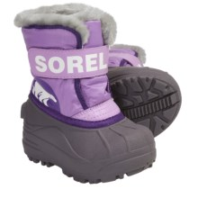 Sorel Snow Commander Winter Boots - Insulated (For Toddlers) in Hydrangea/Royal Purple - Closeouts