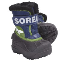 Sorel Snow Commander Winter Boots - Insulated (For Toddlers) in Windsor/Boa - Closeouts