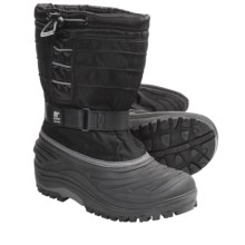 Sorel Snow Trooper TP Winter Pac Boots - Waterproof (For Youth) in Black - Closeouts