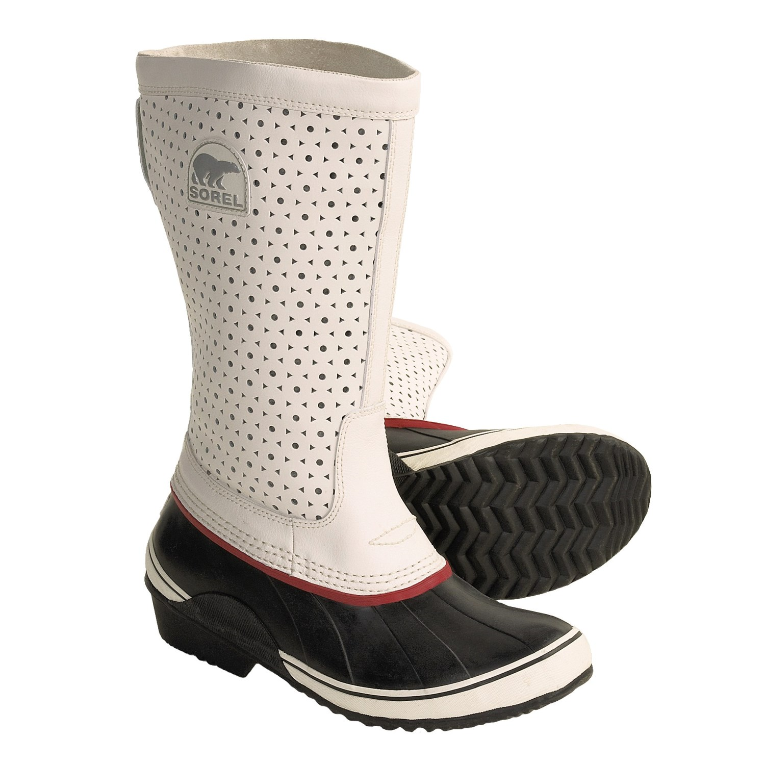 sorel sorelli boots insulated leather rubber for