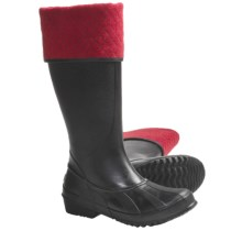 Sorel Sorellington Plus Waterproof Boots - Removable Fleece Liner (For Women) in Black - Closeouts