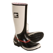 Sorel Sorellington Rubber Boots - Waterproof, Lined (For Women) in Winter White - Closeouts