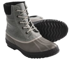 Sorel Spring Cheyanne Lace Snow Boots (For Men) in Varsity Grey - Closeouts
