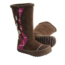 Sorel Suka 2 Boots - Fleece-Lined, Leather (For Youth) in Espresso/Isla - Closeouts