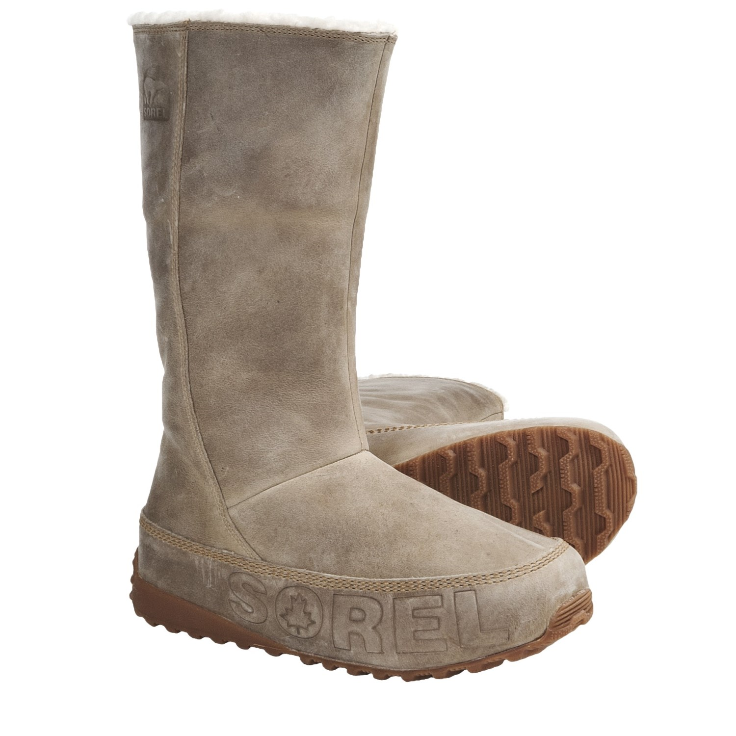 Sorel Suka NM Boots - Fleece Lined (For Women) in Curry