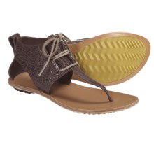 Sorel Summer Boot Sandals - Leather (For Women) in Hawk - Closeouts