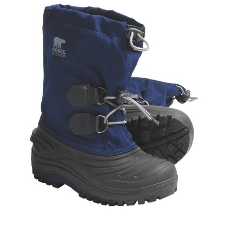 Sorel Super Trooper Waterproof Boots (For Kids)