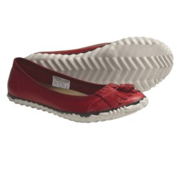 Sorel Tee Off Tassie Shoes - Leather (For Women) in Chili