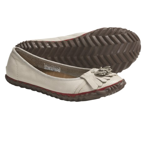 Sorel Tee Off Tassie Shoes - Leather (For Women) in Natural