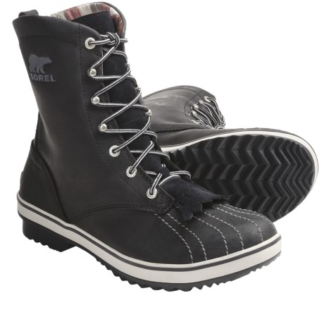 Sorel Tivoli Camp 18 Boots - Microfleece Lining (For Women) in Kettle