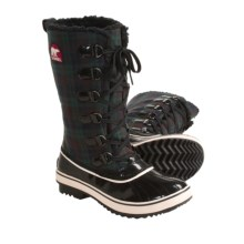 Sorel Tivoli High Pac Boots - Waterproof, Insulated (For Women) in Black/Jester Red - Closeouts