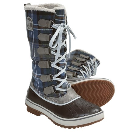 Sorel Tivoli High Winter Boots - Waterproof, Insulated (For Women) in Mud