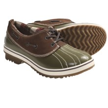 Sorel Tivoli Low II Winter Shoes - Waterproof (For Women) in Dark Olive/Cappuccino - Closeouts