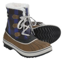 Sorel Tivoli Plaid Winter Boots - Waterproof, Insulated (For Women) in Autumn Bronze/Stone - Closeouts
