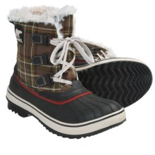 Sorel Tivoli Plaid Winter Boots - Waterproof, Insulated (For Women) in Hawk/Gypsy - Closeouts