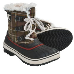 Sorel Tivoli Plaid Winter Boots - Waterproof, Insulated (For Women) in Hawk/Gypsy
