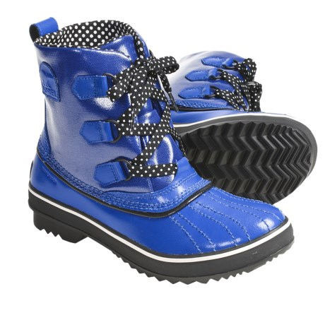 Sorel Tivoli Rain Boots (For Women) in Nautical Blue/Black
