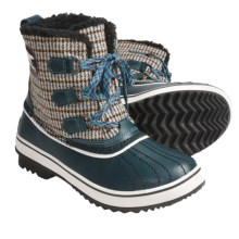 Sorel Tivoli Winter Pac Boots - Waterproof, Insulated (For Women) in Deap Teal/Tarte - Closeouts