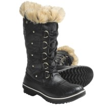 Sorel Tofino CVS Pac Boots - Waterproof, Waxed Canvas (For Women) in Black/Oyster Grey - Closeouts