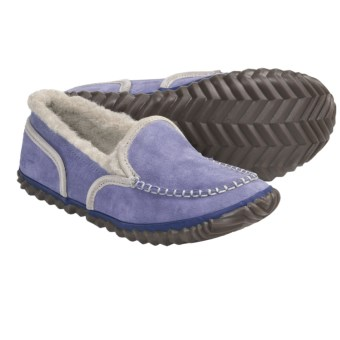 Sorel Tremblant Moc Slipper Shoes (For Women) in Whisper/Stone