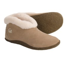 Sorel Valle Bleue Slippers - Suede (For Women) in British Tan - Closeouts