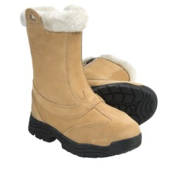 Sorel Waterfall Slip 2 Boots - Waterproof (For Women) in Curry/Turtle Dove