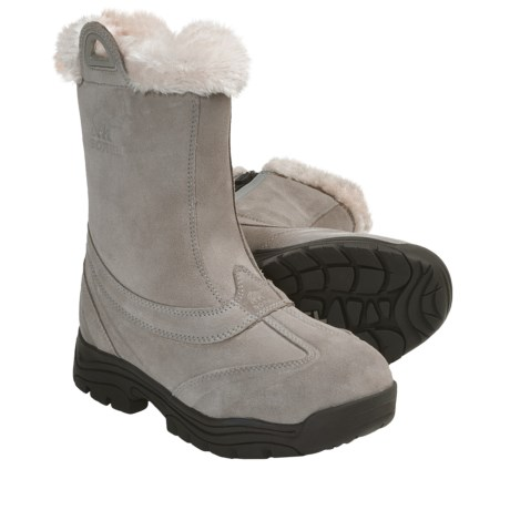 Sorel Waterfall Slip 2 Boots - Waterproof (For Women) in Kettle/Turtle Dove