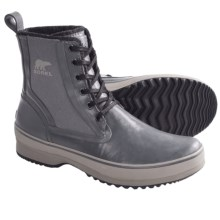Sorel Woodbine High Boots (For Men) in Charcoal - Closeouts