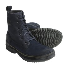 Sorel Woodbine Surplus Boots - Suede-Canvas (For Men) in Total Eclipse - Closeouts