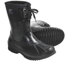 Sorel Woodbine Welly Rubber Boots - Waterproof, Insulated (For Men) in Black - Closeouts