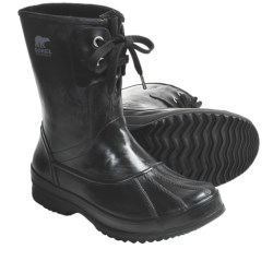 Sorel Woodbine Welly Rubber Boots - Waterproof, Insulated (For Men) in Black