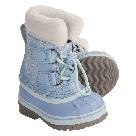 Sorel Yoot Pac Winter Boots - Waterproof (For Kids) in Heavenly Blue