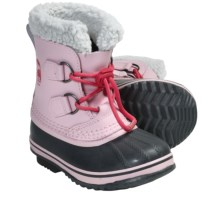 Sorel Yoot Pac Winter Boots - Waterproof (For Kids) in Satin Pink - Closeouts