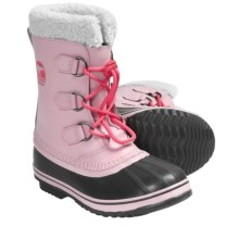 Sorel Yoot Pac Winter Boots - Waterproof (For Youth) in Satin Pink - Closeouts