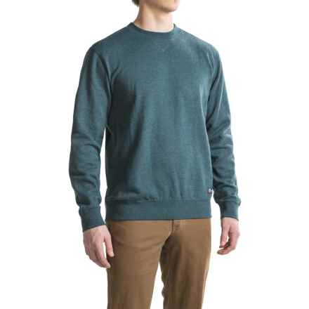 Southern Proper Bragg Sweatshirt - Crew Neck (For Men) in Reflecting Pond - Closeouts