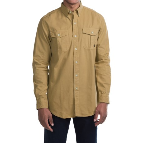 Southern Proper Henning Shirt - Long Sleeve (For Men) in Khaki