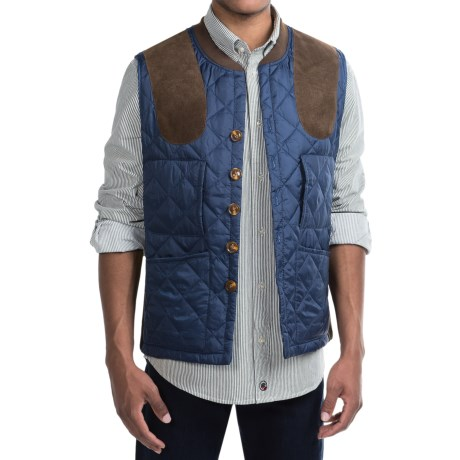 Southern Proper Jefferson Shooting Vest - Insulated (For Men) in British Royal Navy